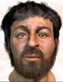 Scientists use forensics to model face of Jesus